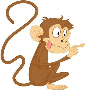 Pic - Monkey poking right 1A